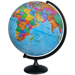Political globe with a diameter of 420 mm