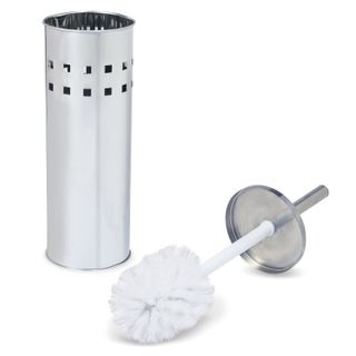 LIMA / Toilet brush with stand, stainless steel, mirrored
