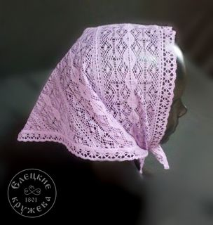 Children's lace scarf С907