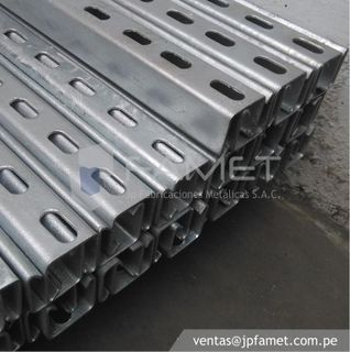 Galvanized railway racks