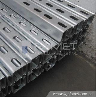 Galvanized railway racks