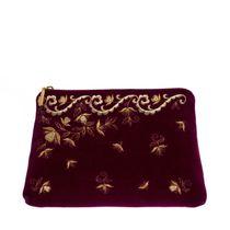 Velvet cosmetic bag 'Nefertiti'