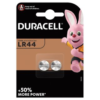 DURACELL / Batteries LR44 (V13GA, 76A), alkaline in blister, KIT 2 pcs.