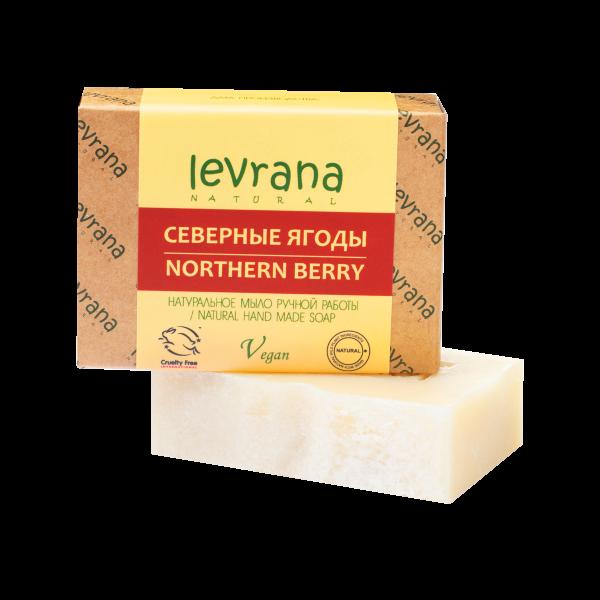 """Natural handmade soap """"Nordic berries"""", LEVRANA"""