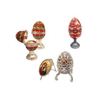 Rostov enamel / Easter egg red