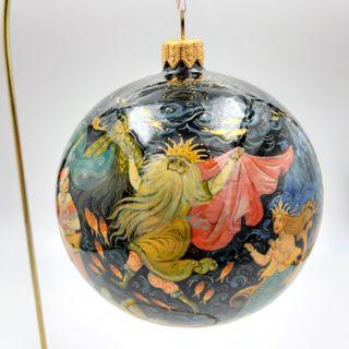 Palekh / Christmas tree ball