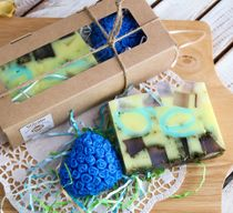 Handmade soap set Flower fantasy