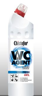 "Cleaner for plumbing CHISTOFOR ""WC Agent 002 COOL FRESH GEL"" (VS agent 002 cold freshness)"