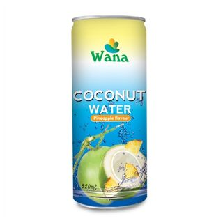 OEM Coconut Water Organic Manufacturer In Vietnam Canned Fruity Flavor 320ml