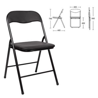 The chair is folding for the house and office of BRABIX