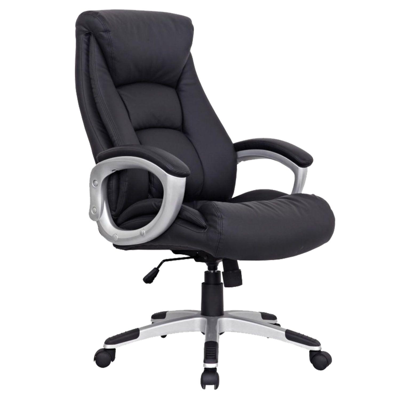 "Office chair BRABIX ""Grand EX-500"", genuine leather, black"