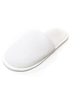 TERRY Slippers with closed toe sole 5 mm