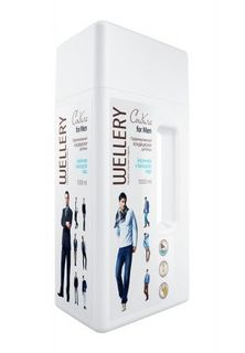 Wellery Couture for Men - Perfumed conditioner for men's underwear with the scent of sea and cedar