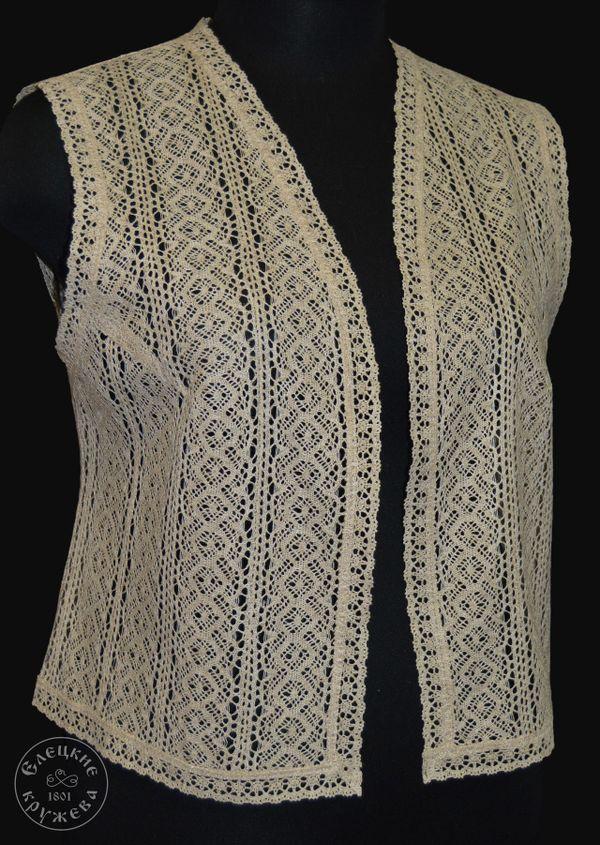 Womens vest lace С432