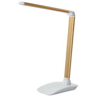 SONNEN / Table lamp PH-3607, on a stand, LED, 9 W, aluminum, white / gold