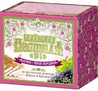Belevskaja pastilla apple with a black currant, 175 g