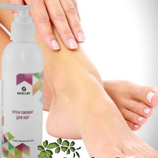 Peeling cream for feet Spa