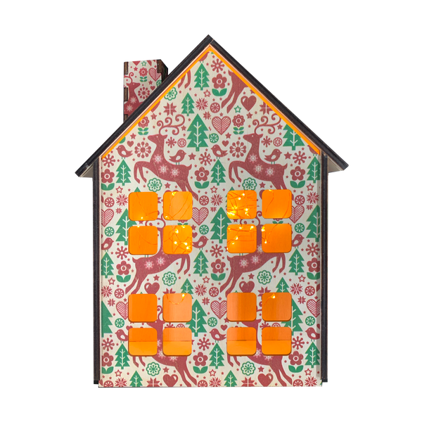 "Decorative ""Christmas house"" color"
