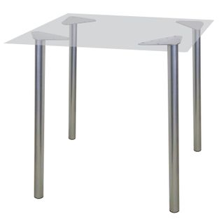 Table frame for dining rooms, cafes, alpha houses, universal, silver color
