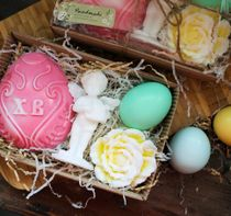 Gift set Easter handmade soap My angel - mix colors