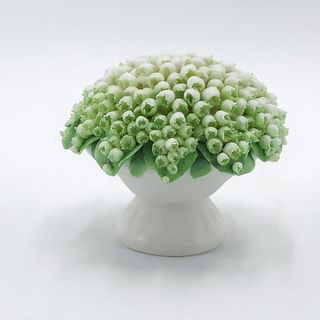 """Basket with flowers porcelain option No. 7 """"Lilies of the Valley-Parian"""""""