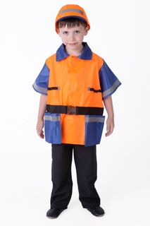 Worker - children's costume-profession