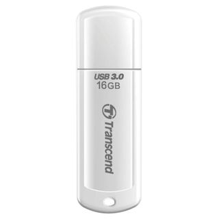 TRANSCEND / Flash Drive 16 GB Jetflash 730 USB 3.0, white