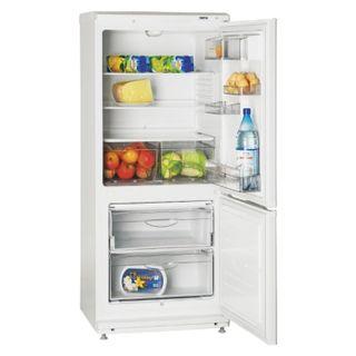 ATLANT 4008-022 fridge, two-camera, 244 litres, bottom freezer 76l, white