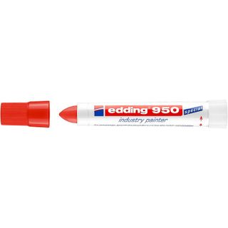 Edding / Industrial marker, pigment paste, 10 mm Red
