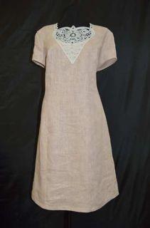Linen dress for women