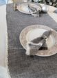Tablecloth with lace Versailles with grey carpet - view 3