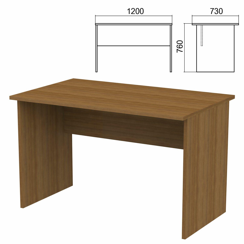"Table written ""Argo,"" 1200 x730 x760 mm, walnut"