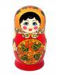 12 Khokhloma matryoshka dolls - view 2