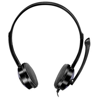 SVEN / Headphones with microphone (headset) AP-151MV, wired 1.2 m, with headband, black