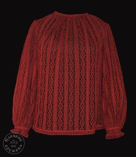 Women's chiffon blouse lace С2432