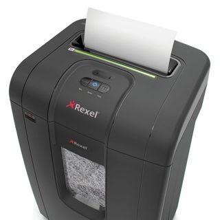 Shredder (shredder) REXEL RSX1834, 4 security level, fragments 4x40 mm, 18 sheets, 34 l, CD