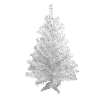 "Artificial spruce ""Snow"" 30 cm, white"