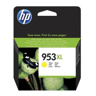 HP (F6U18AE) Officejet Pro 8710/8210 # 953XL High Yield Yellow 1600 Pages Original Inkjet Cartridge