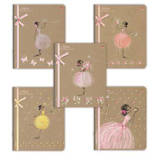 Notebook A5, 48 sheets, ALT, staple, cage, foil, congrev, selective varnish,
