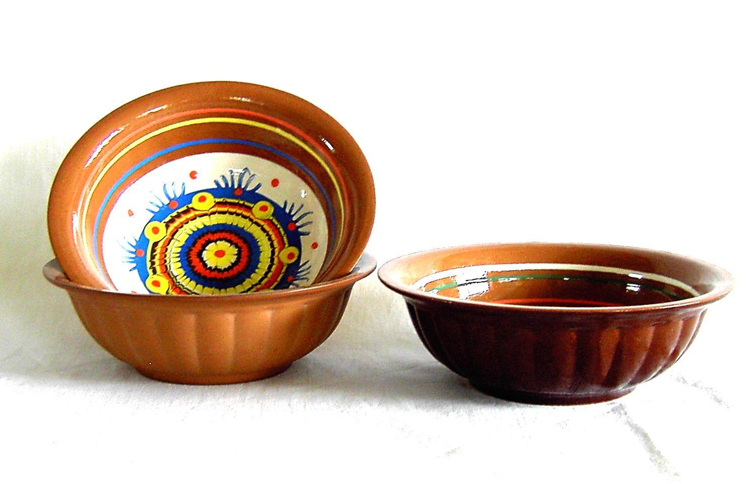 Tarusa artist / Embossed bowl, 0.5l