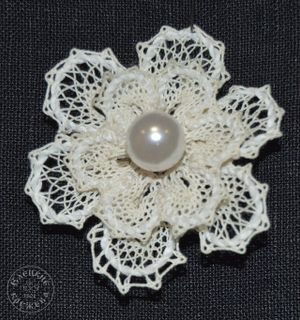 Brooch lace С2292