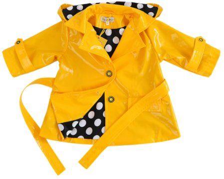 Raincoat yellow 'Basik Kids'