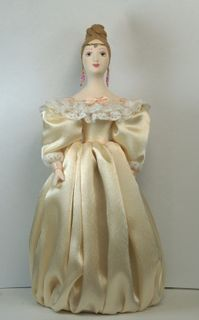 Doll gift porcelain. Natalie. 1830 St. Petersburg