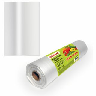 LIME / Packages 24x37 cm SET 500 pcs., HDPE, 8 microns, roll on sleeve