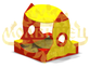 Sandbox for children from 3 to 7 years