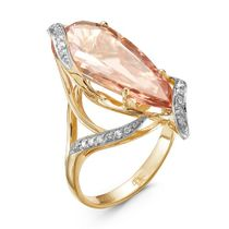 RING, YELLOW GOLD, DIAMOND
