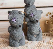 Colorized handmade soap Baby Bear