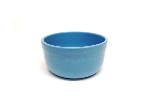 "Vyatka ceramics / Set of containers ""Julia"" 0.2 l, 10 pcs. (blue)"