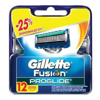 Replacement shaving cassettes 12 pcs. GILLETTE