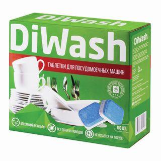 100 dishwasher tablets, DIWASH
